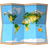 World Map ios/apple emoji