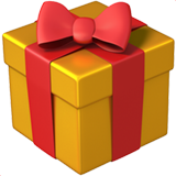 Wrapped Present ios/apple emoji