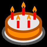 Birthday Cake docomo emoji