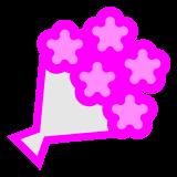 Bouquet docomo emoji
