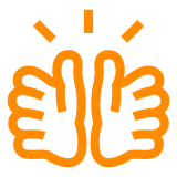 Clapping Hands Sign docomo emoji