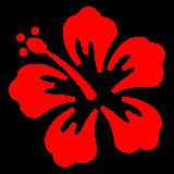 Hibiscus docomo emoji