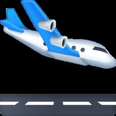 Airplane Arriving facebook emoji