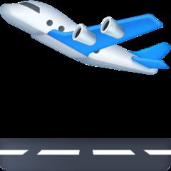 Airplane Departure facebook emoji