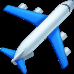 Airplane facebook emoji