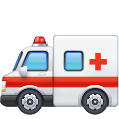 Ambulance facebook emoji