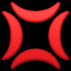 Anger Symbol facebook emoji