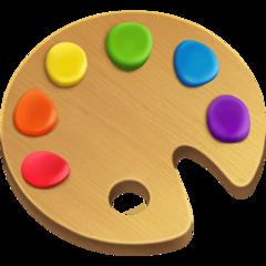 Artist Palette facebook emoji