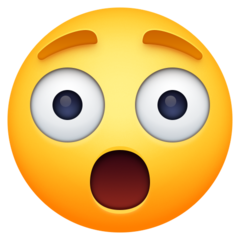 Astonished Face facebook emoji