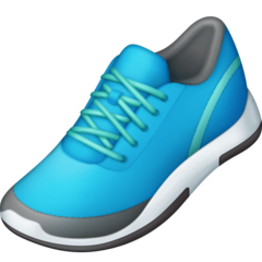 Athletic Shoe facebook emoji