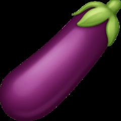 Aubergine facebook emoji