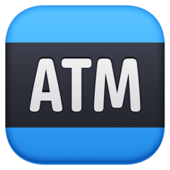 Automated Teller Machine facebook emoji