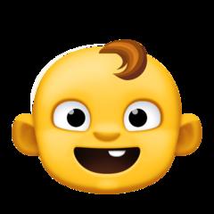 Baby facebook emoji