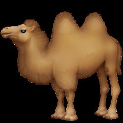 Bactrian Camel facebook emoji
