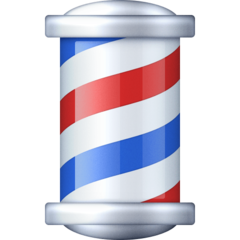 Barber Pole facebook emoji