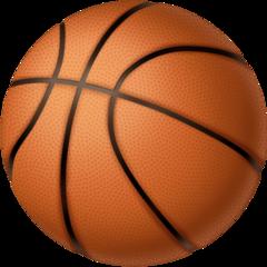 Basketball And Hoop facebook emoji