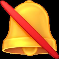 Bell With Cancellation Stroke facebook emoji