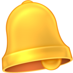 Bell facebook emoji