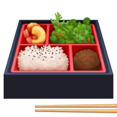 Bento Box facebook emoji