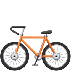 Bicycle facebook emoji