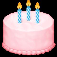 Birthday Cake facebook emoji