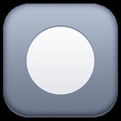 Black Circle For Record facebook emoji
