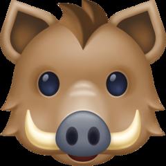 Boar facebook emoji