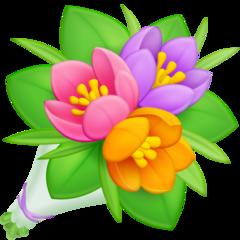 Bouquet facebook emoji