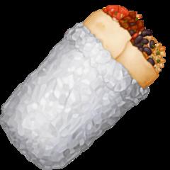Burrito facebook emoji