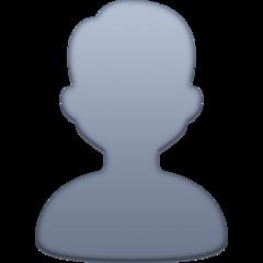 Bust In Silhouette facebook emoji