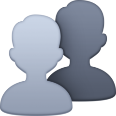 Busts In Silhouette facebook emoji