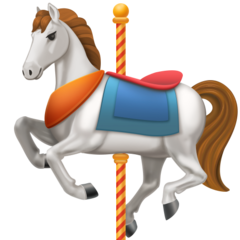 Carousel Horse facebook emoji