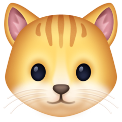 Cat Face facebook emoji
