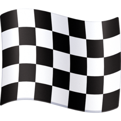 Chequered Flag facebook emoji