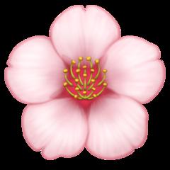 Cherry Blossom facebook emoji
