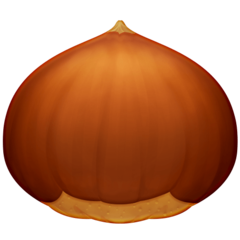 Chestnut facebook emoji