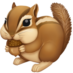 Chipmunk facebook emoji