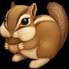 Chipmunk facebook emoji
