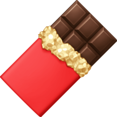 Chocolate Bar facebook emoji