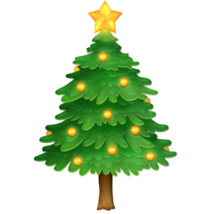 Christmas Tree facebook emoji