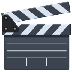 Clapper Board facebook emoji