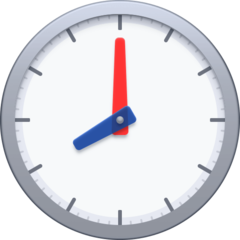 Clock Face Eight Oclock facebook emoji