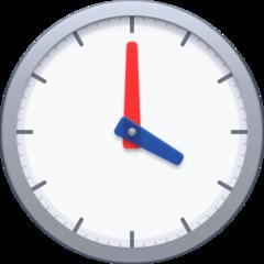 Clock Face Four Oclock facebook emoji