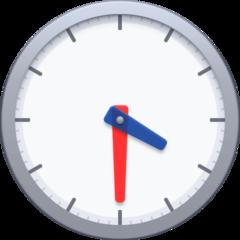 Clock Face Four-thirty facebook emoji