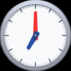 Clock Face Seven Oclock facebook emoji