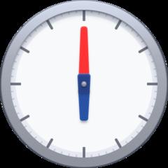 Clock Face Six Oclock facebook emoji