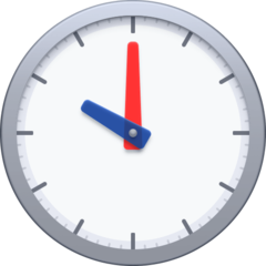 Clock Face Ten Oclock facebook emoji