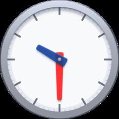 Clock Face Ten-thirty facebook emoji