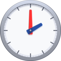 Clock Face Two Oclock facebook emoji