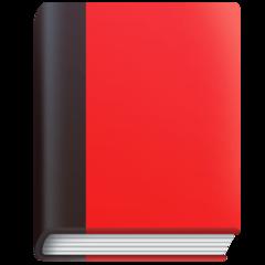Closed Book facebook emoji